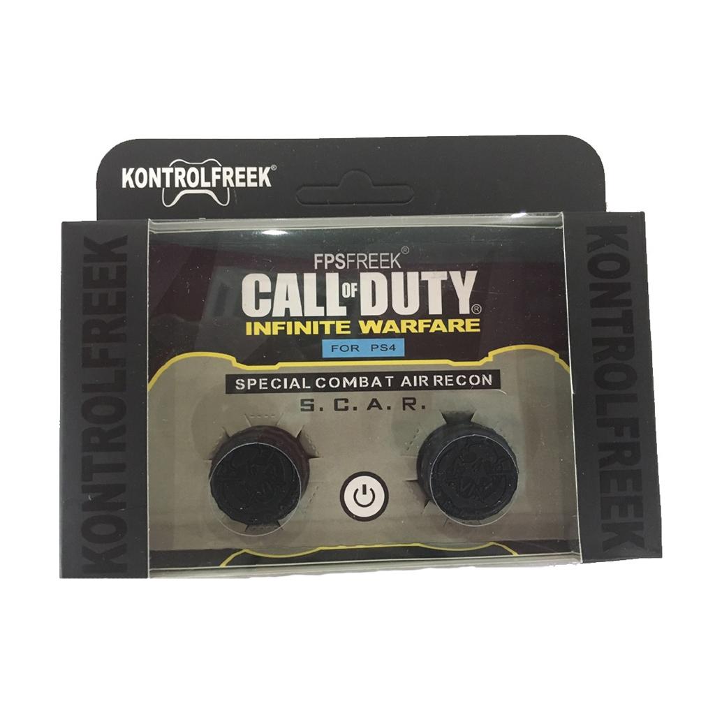 Kontrolfreek Call Of Duty Infinite Warfare Black Thumb Grip For Ps4