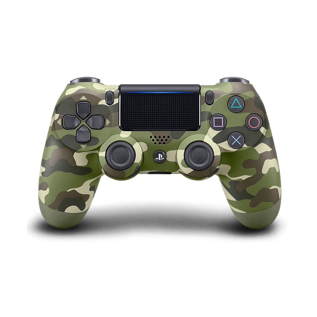 Dualshock 4 Ps4 Controller (green Camo)