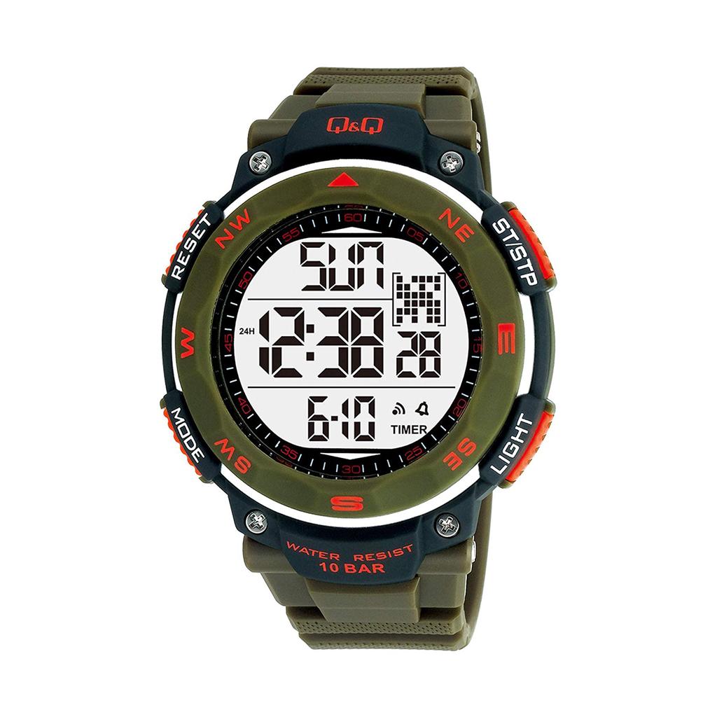 Q&q M124j003y Digital Sports Watch For Men