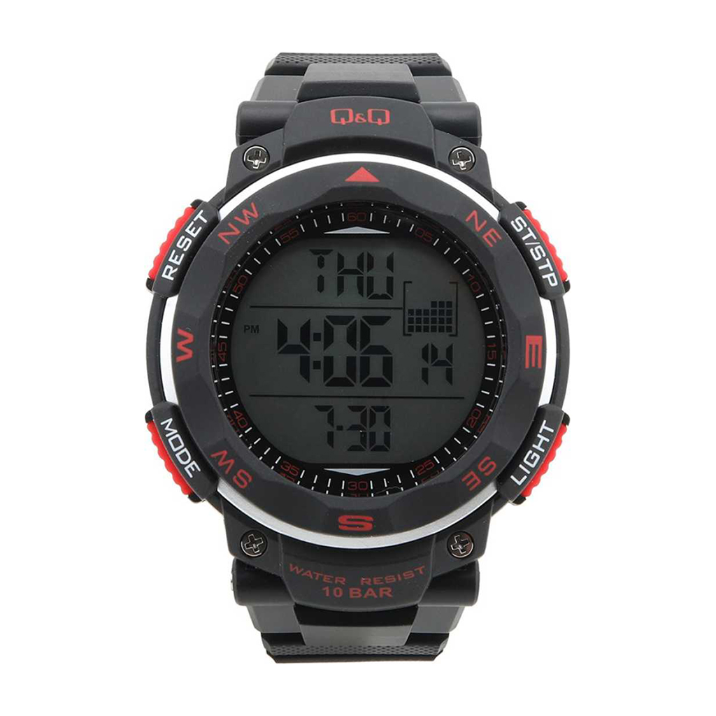 Q&q M124j001y Digital Sports Watch For Men