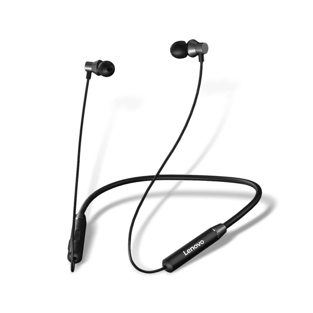 Lenovo He05 Wireless Neckband Stereo Sports Magnetic Earphone