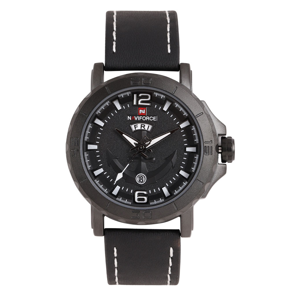 Naviforce Nf9122bwb Analog Watch For Men