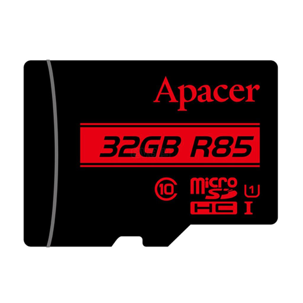 Apacer Microsdhc Uhs-i U1 Class10 (r85 Mb/s) 32gb
