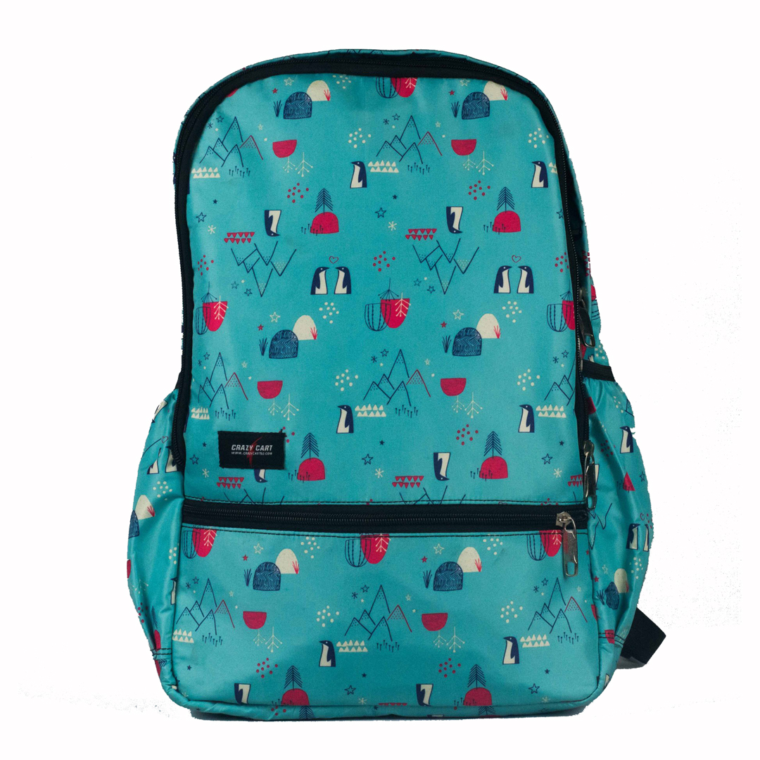 Crazy Cart Stylish Backpack (a-262)