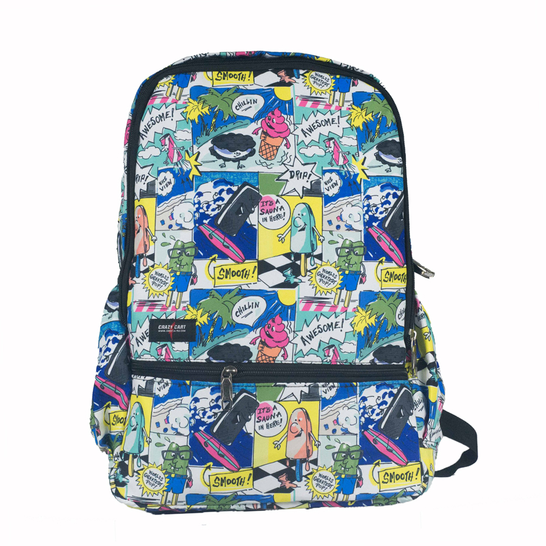 Crazy Cart Stylish Backpack (a-259)