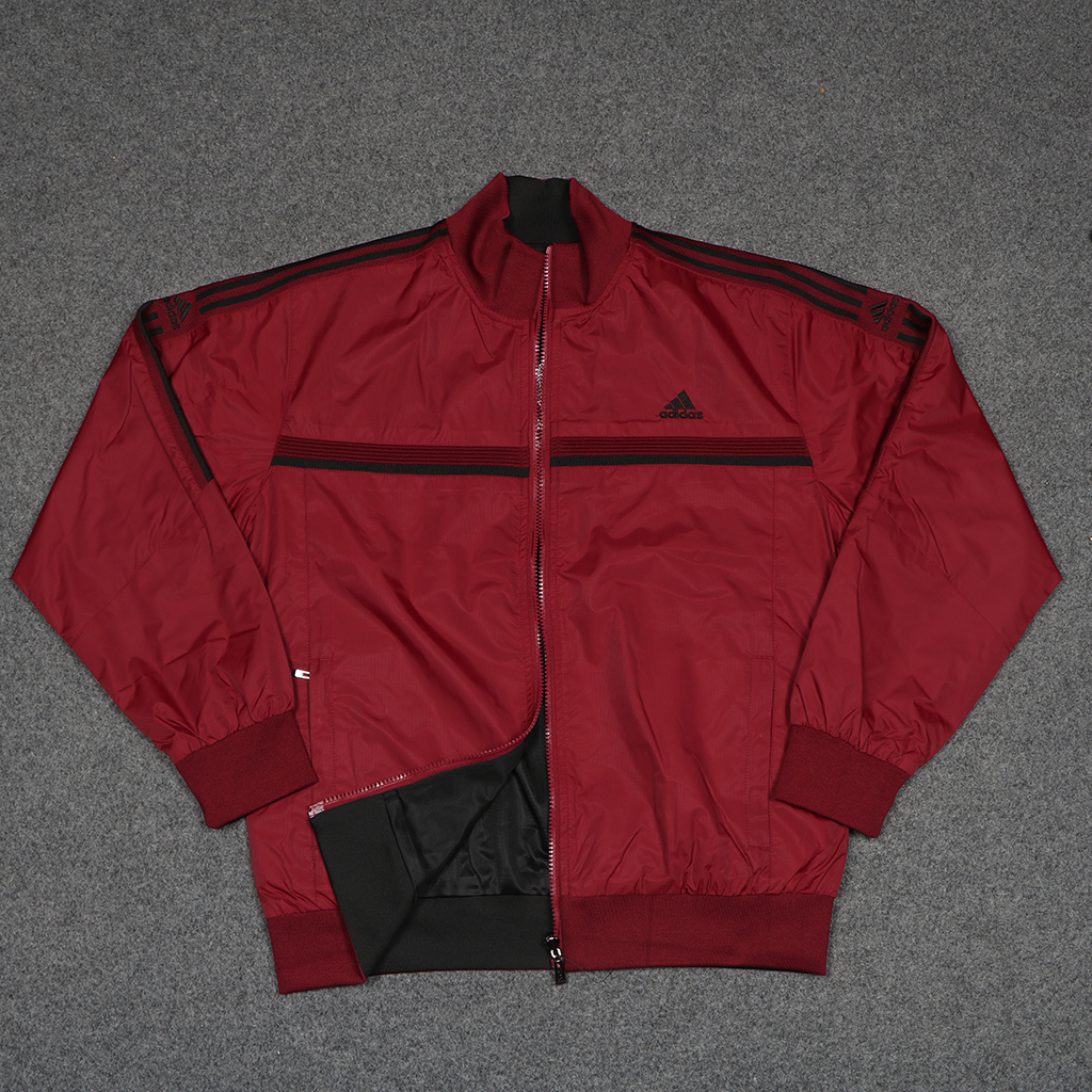 Men's Winter Double Sided Jacket - 8669 - Red And Black