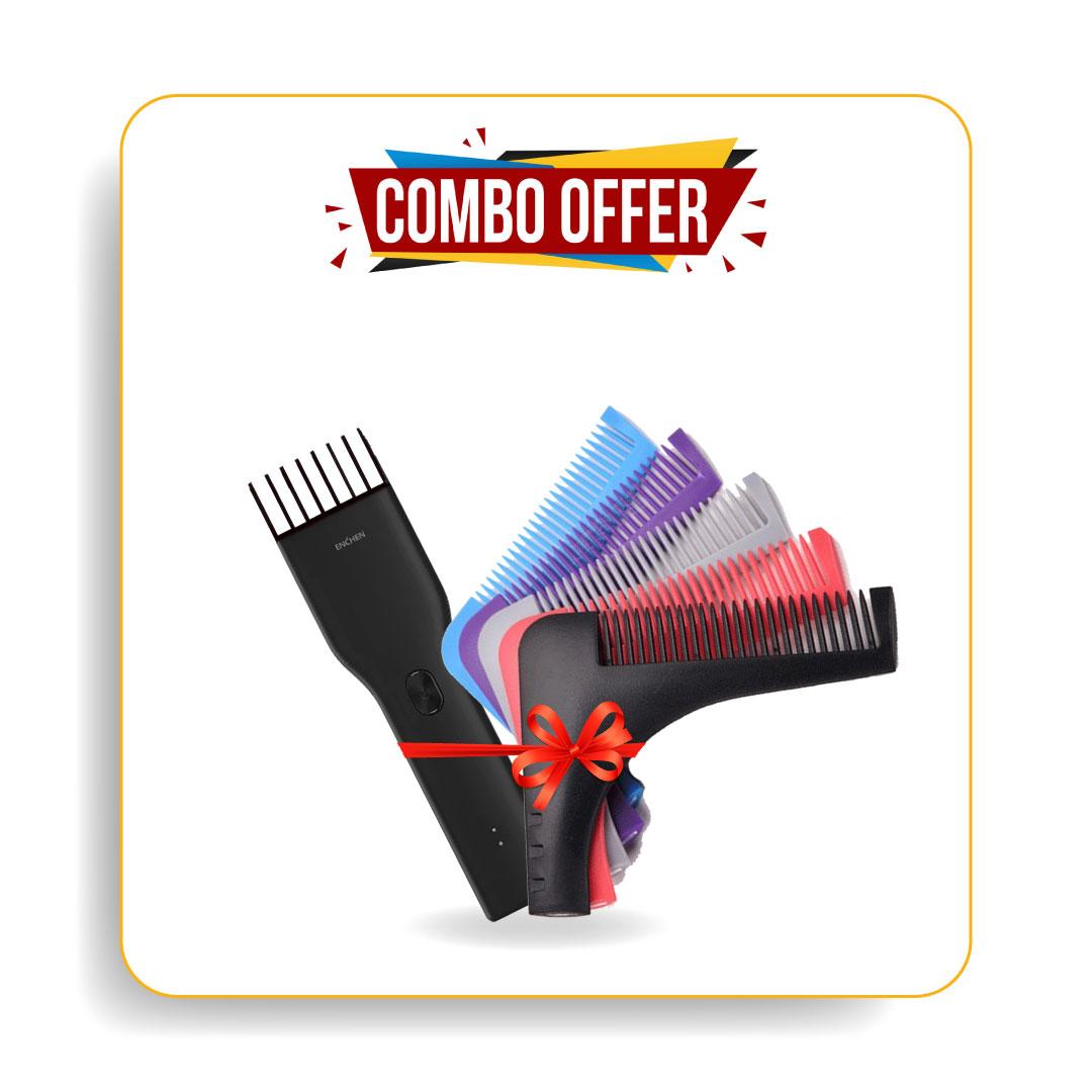 Xiaomi Enchen Boost Trimmer & Shainpur Sn-001 Beard Shaper Tools For Men