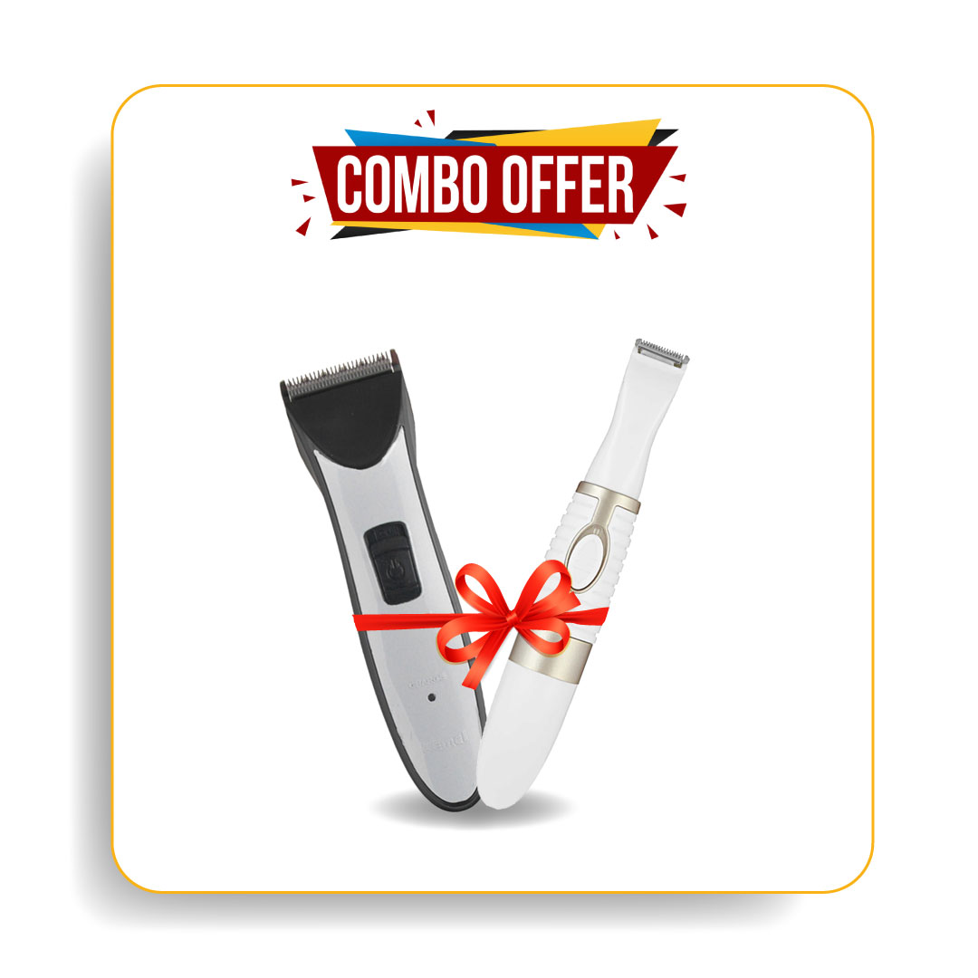 Kemei Km-3909 Trimmers & Km-pg500 6in1 Eyebrow Hair Trimmer