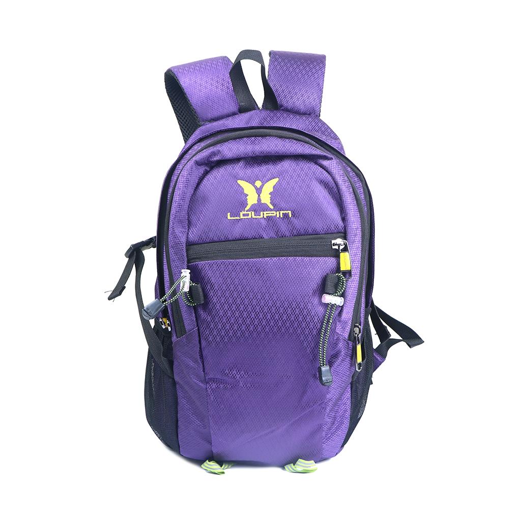 Loupin Nylon Fabric Mini Travel Backpack