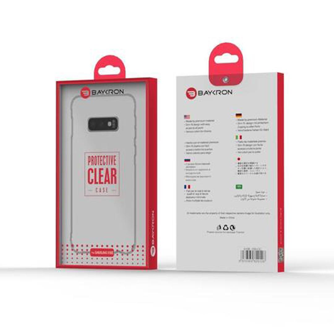 Baykron Samsung S10e Transparent Tpu Mobile Case