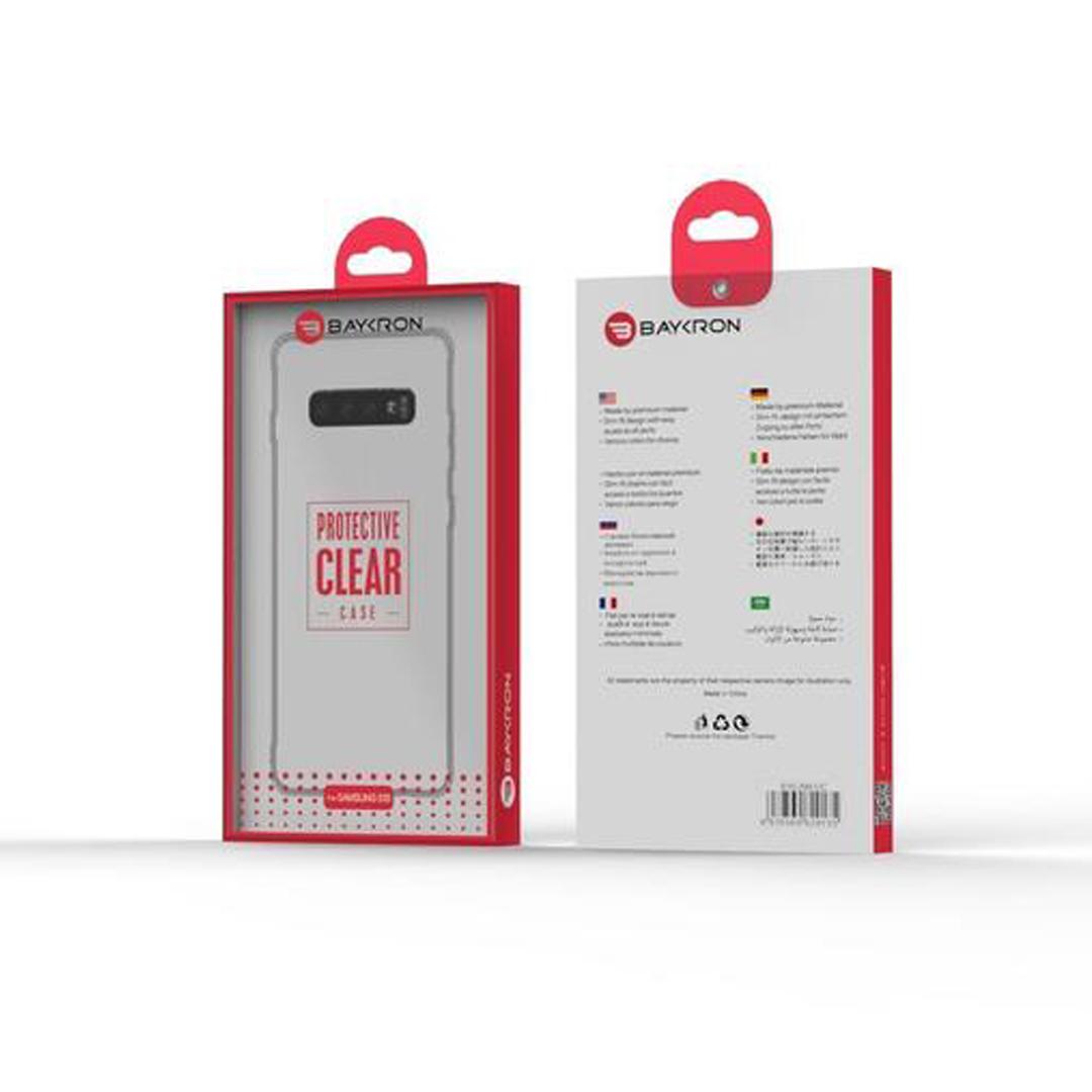 Baykron Samsung S10 Transparent Tpu Mobile Case