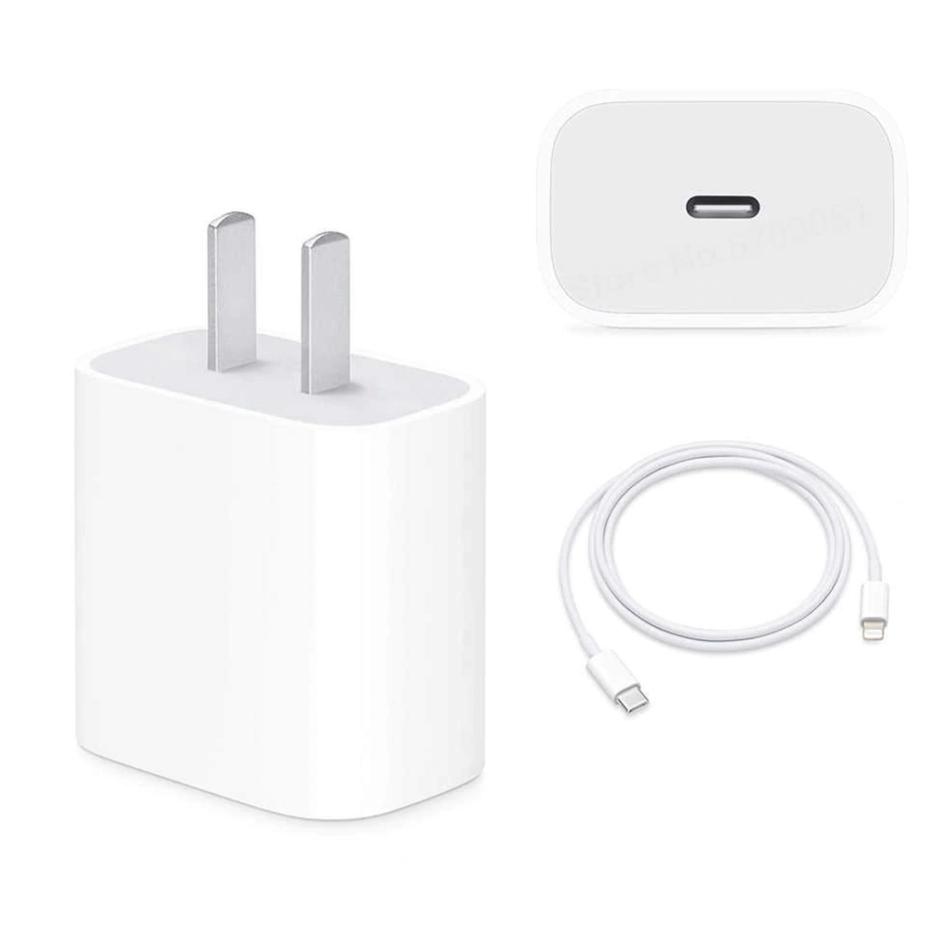 18w Usb-c Power Adapter And Usb-c To Lightning Cable