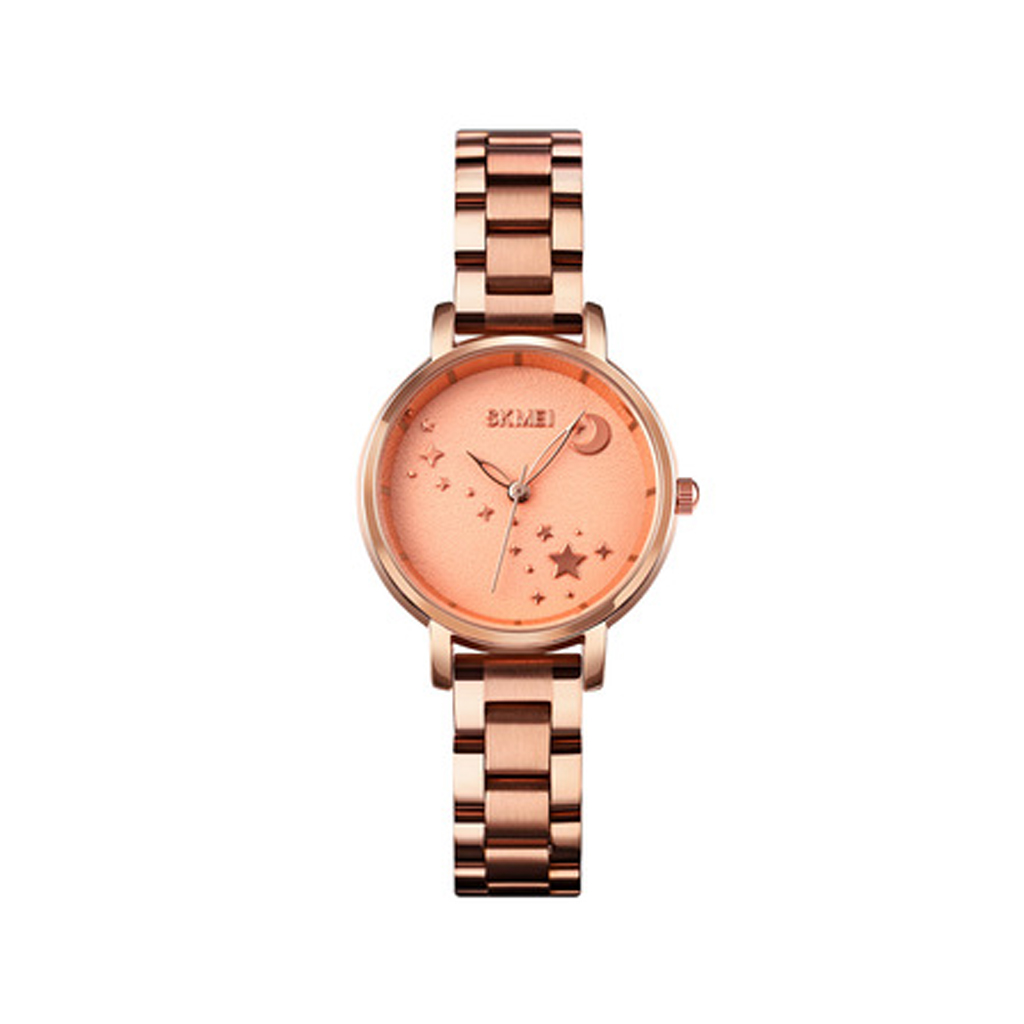 Skmei 1708rg Stainless Steel Watch For Woman