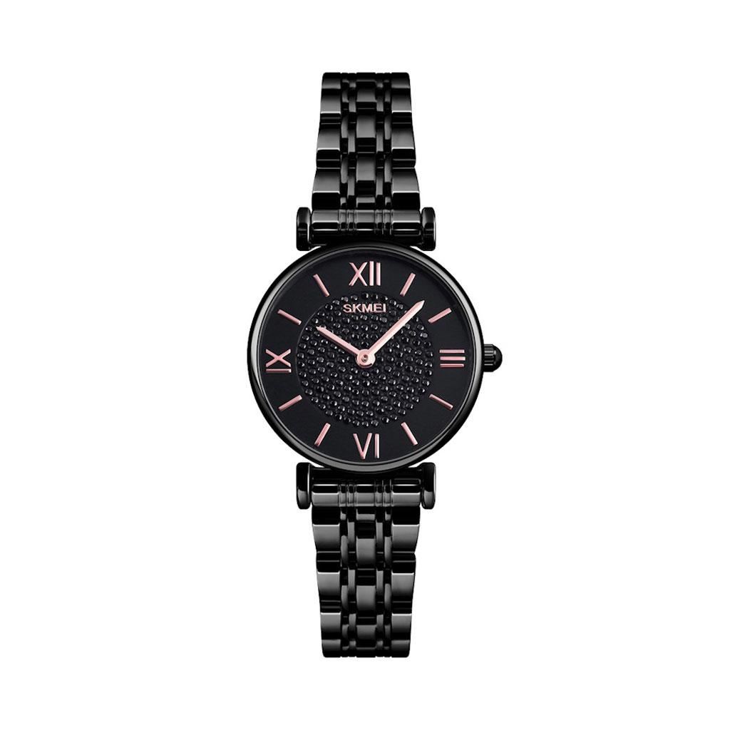 Skmei 1533bl Steel Strap Watch For Women