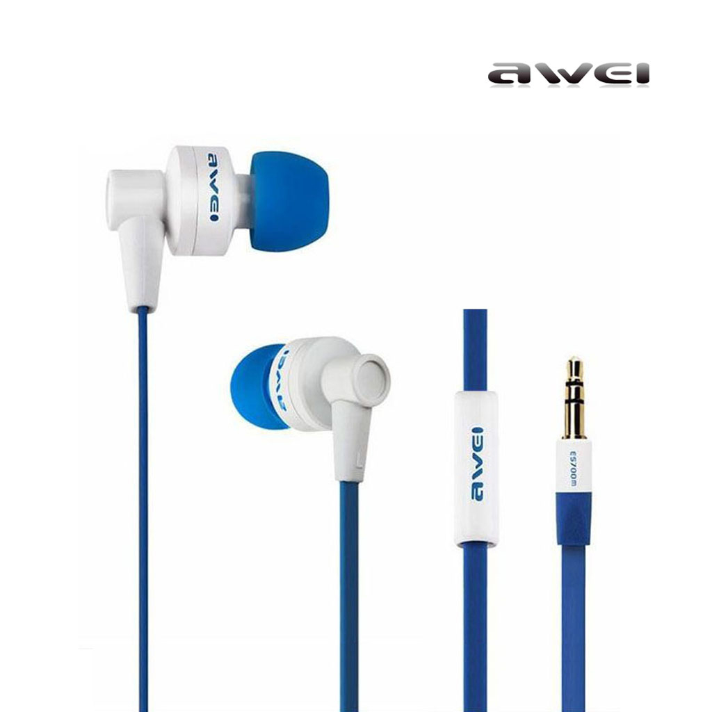Awei Es-700m Stereo Wired In-ear Earphone With Mic