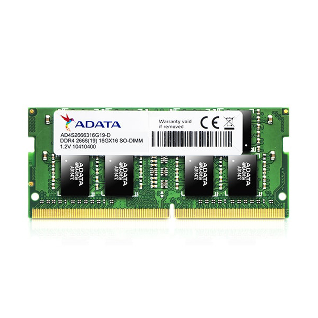 Adata Ddr4 16 Gb 2666 Bus Laptop Ram