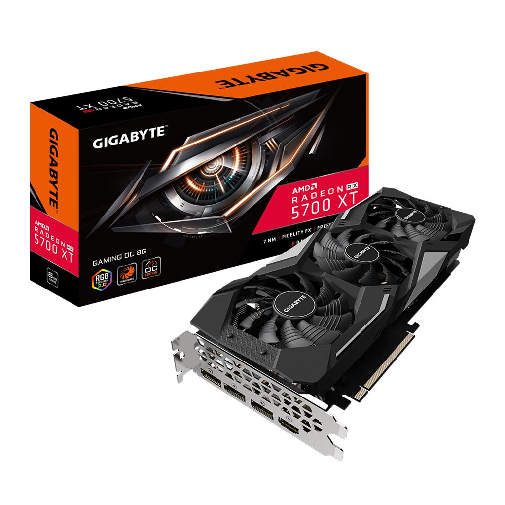 Gigabyte Radeon Rx 5700 Xt Gaming Oc 8g Graphics Card