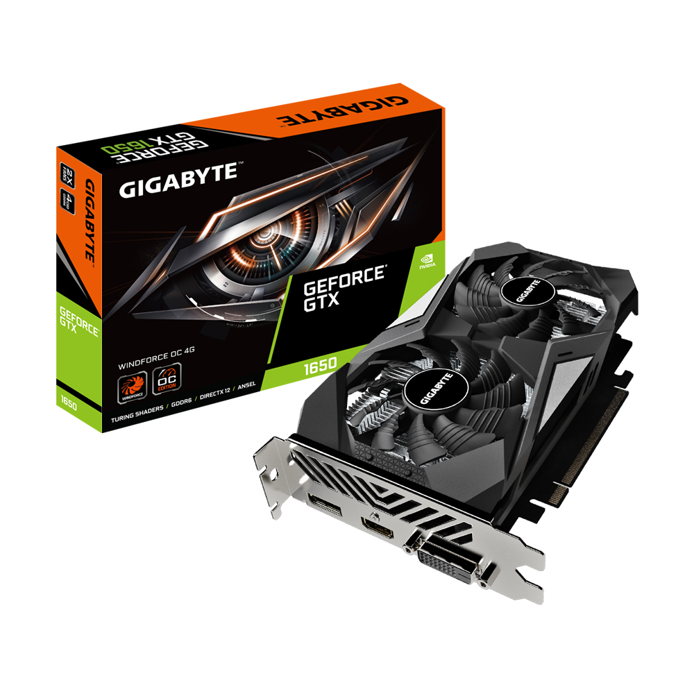 Gigabyte Nvidia Geforce Gtx 1656 Ddr6 Graphics Card