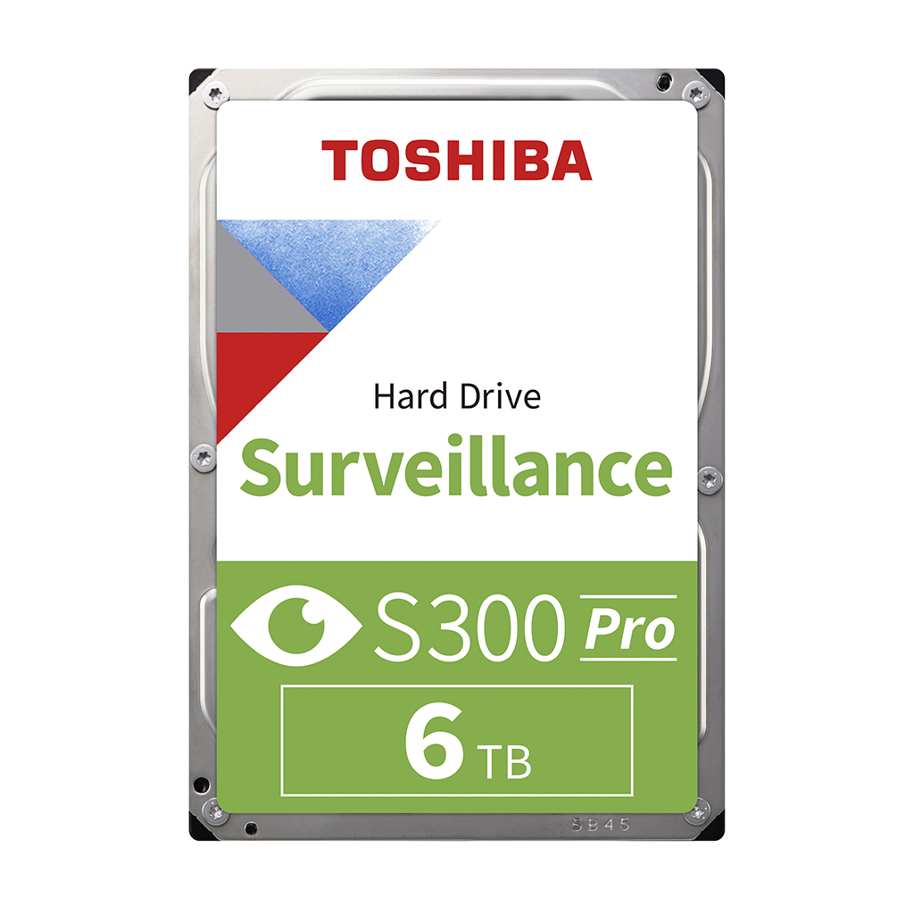 Toshiba S300 6tb 7200 Rpm Surveillance 3.5 Inch Internal Hdd