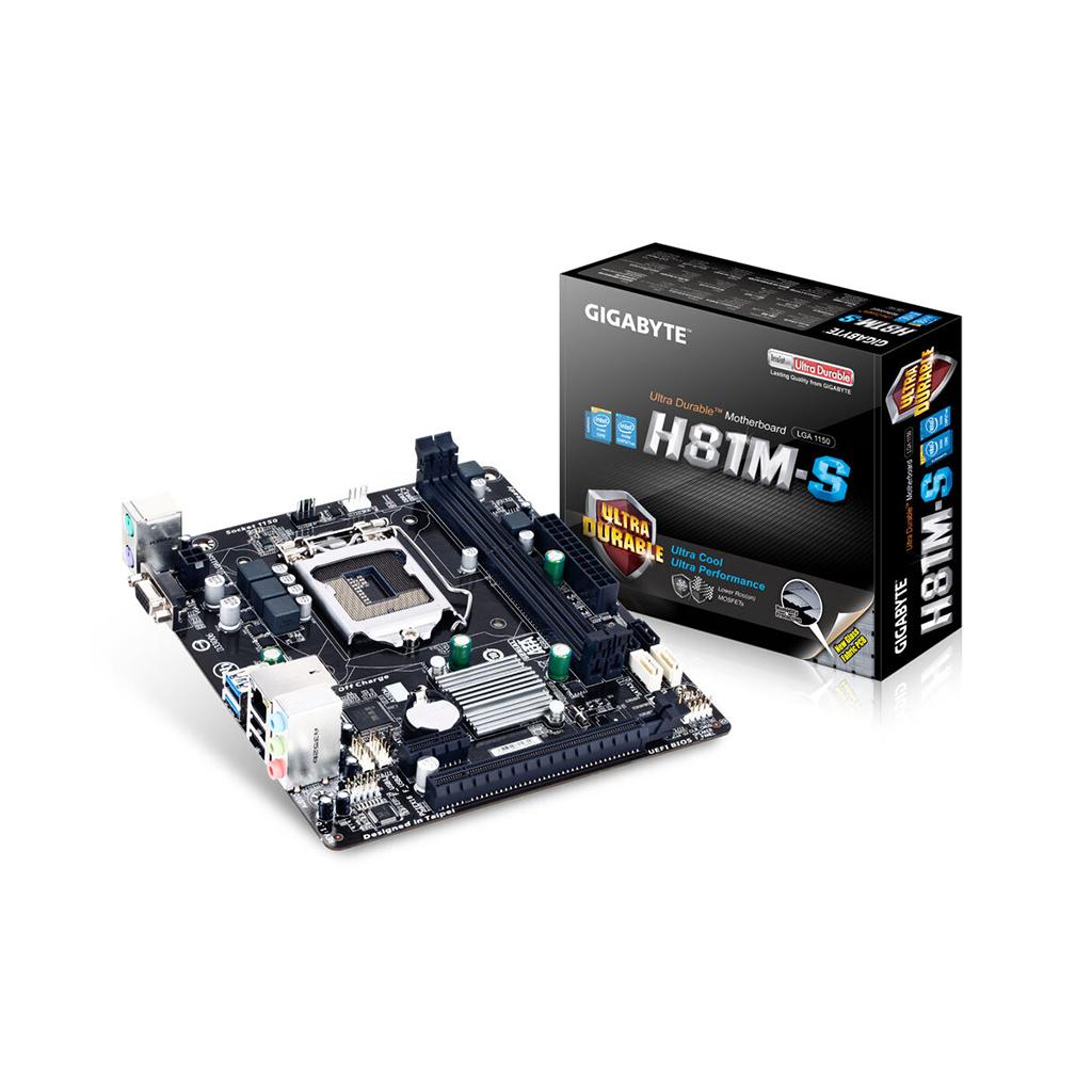Gigabyte Ga-h81m-s 4th Gen Intel Chipset