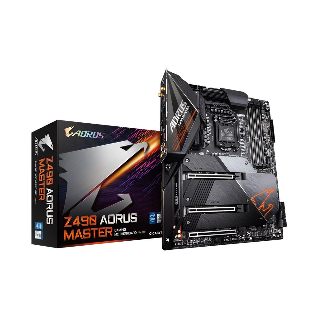 Gigabyte Z490 Aorus Master 10th Gen Intel Chipset