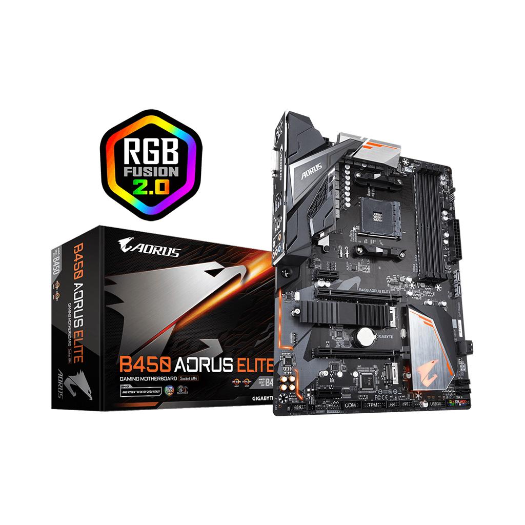 Gigabyte B450 Aorus Elite Amd Chipset