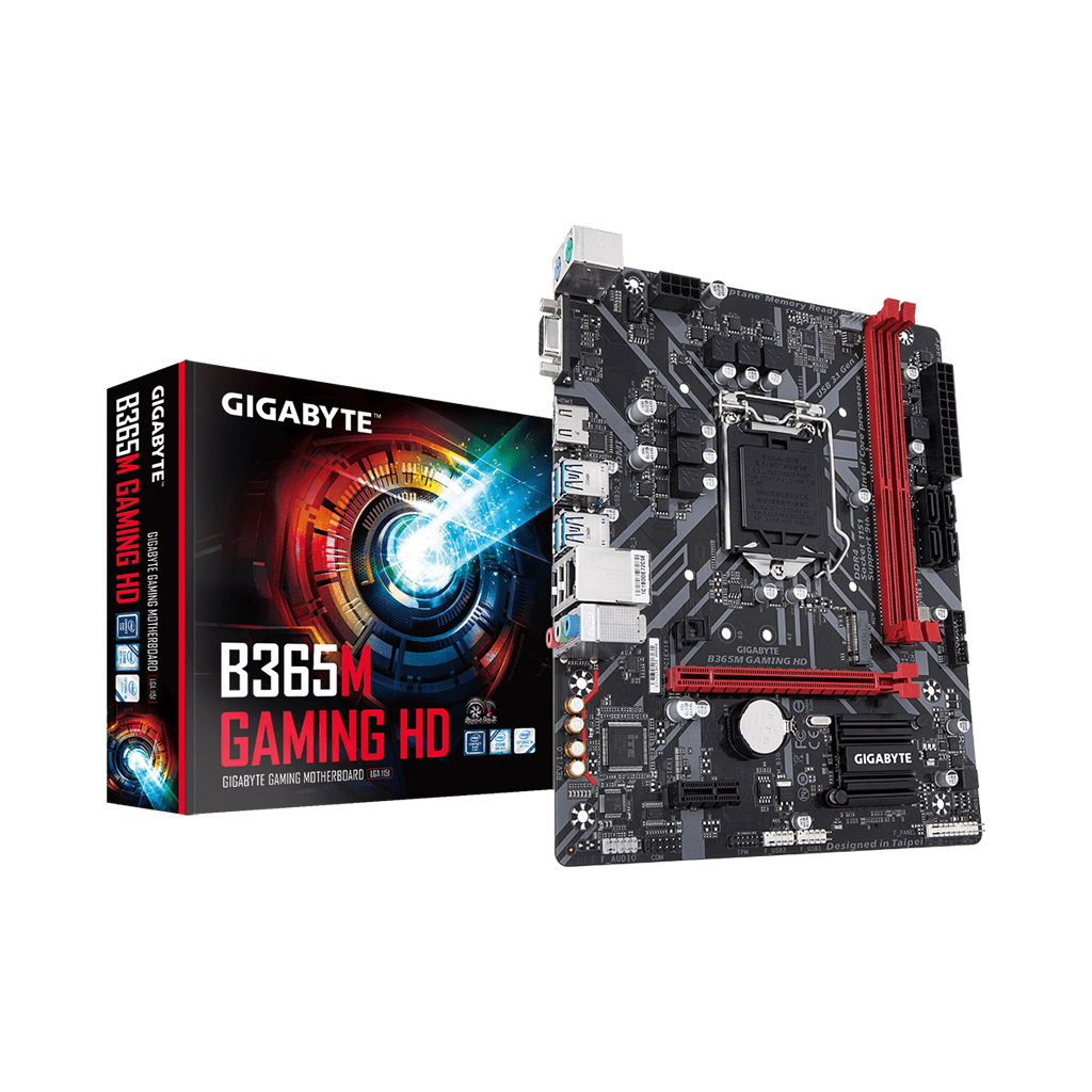 Gigabyte B365m Gaming Hd 9th & 8th Gen Intel Chipset