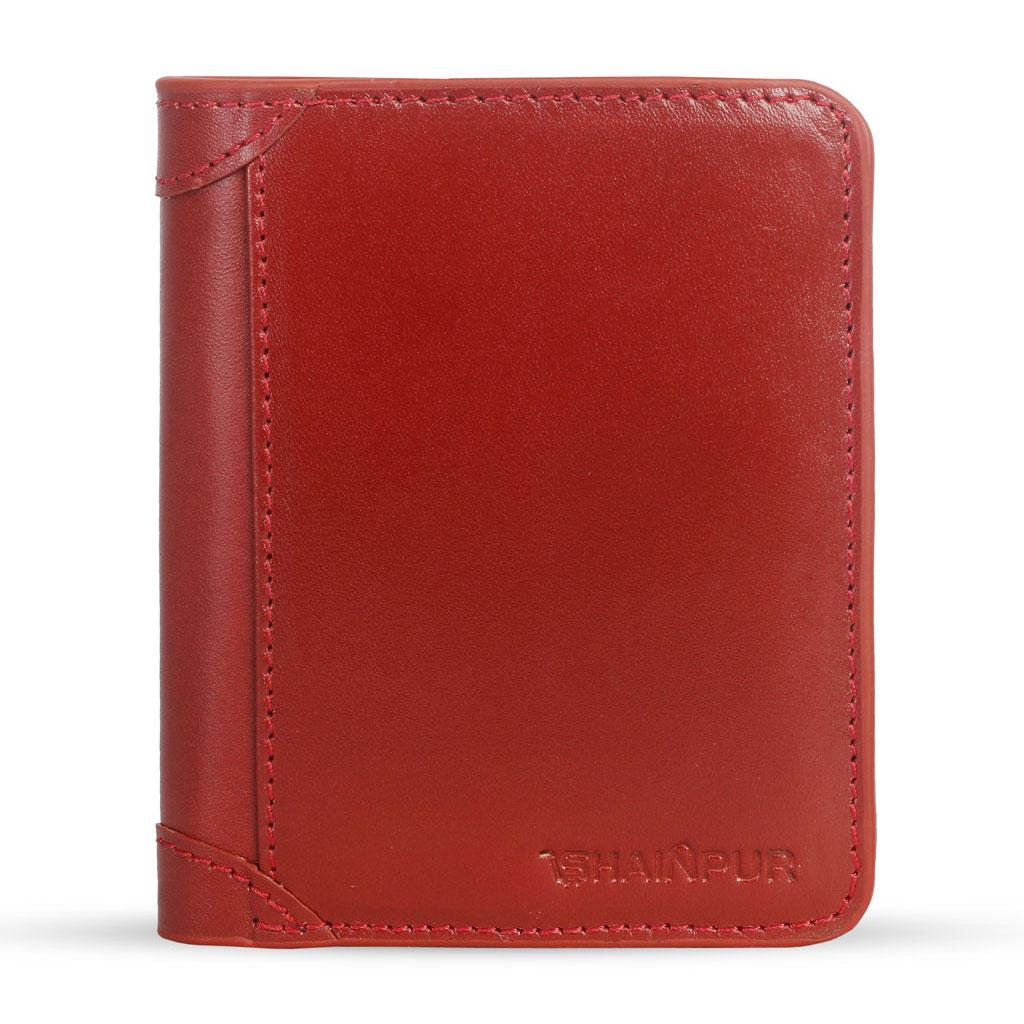 Leather Short Wallet For Men - Sn-w01
