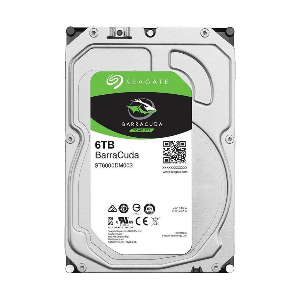 Seagate Barracuda 6tb 3.5 Inch Internal Hard Drive
