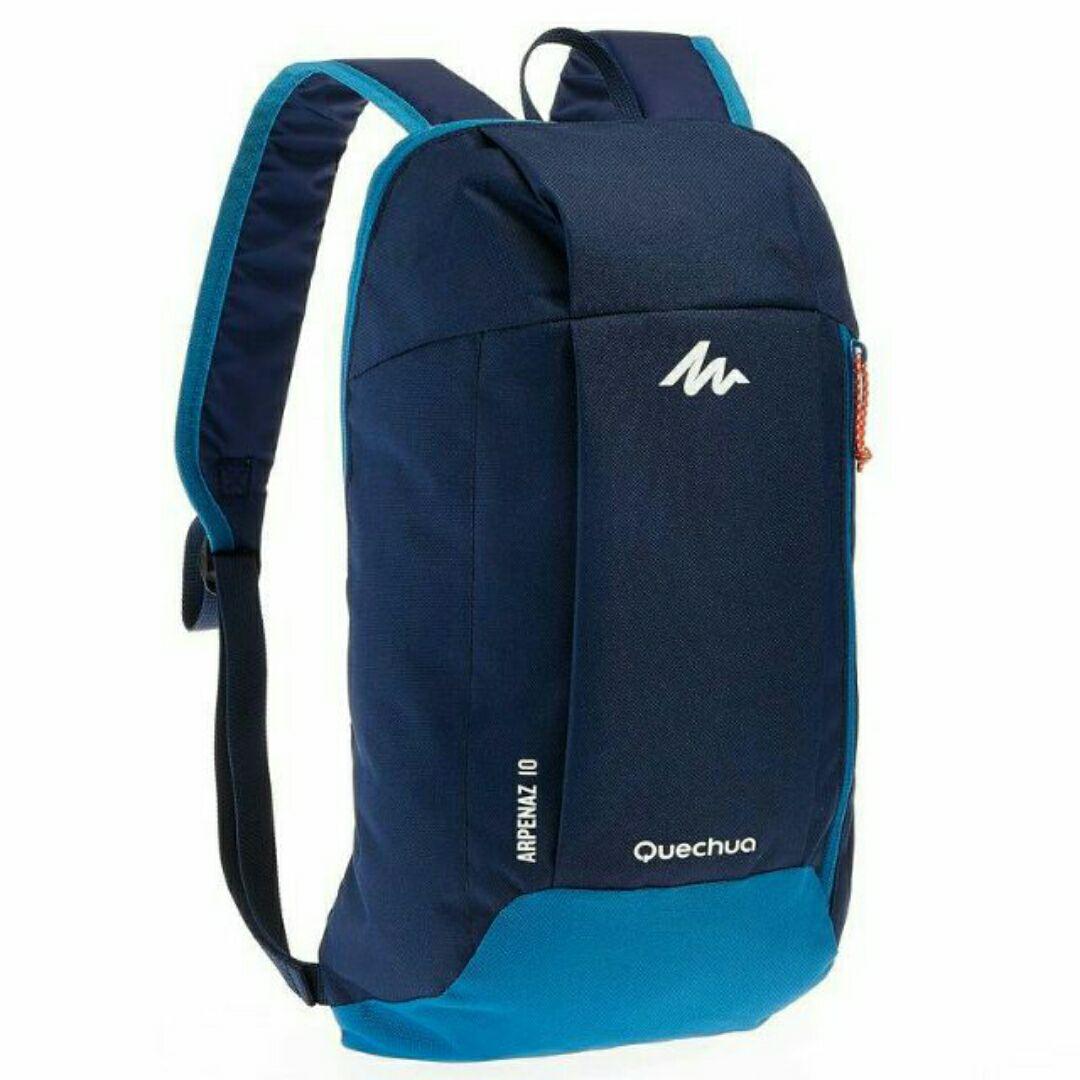10 Litre Mini Backpack - Deep Blue And Sky Blue