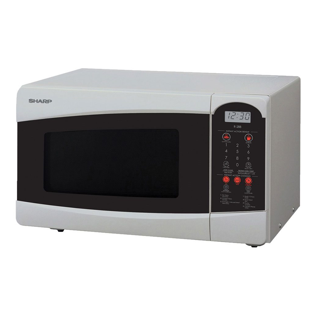 Sharp R-25c1-s Microwave Oven