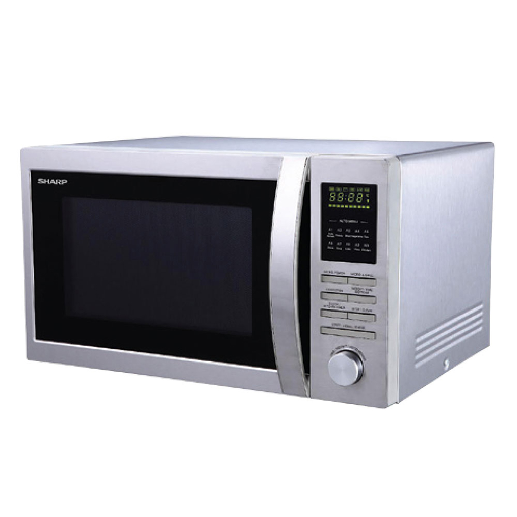 Sharp R-84a0-st-v Grill Convection Microwave Oven