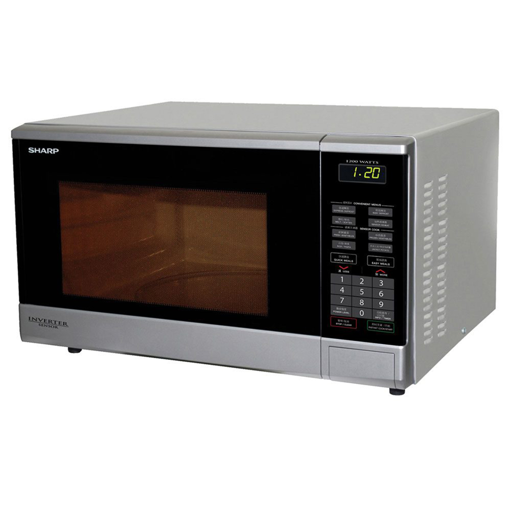 Sharp R-380v-s Inverter Microwave Oven