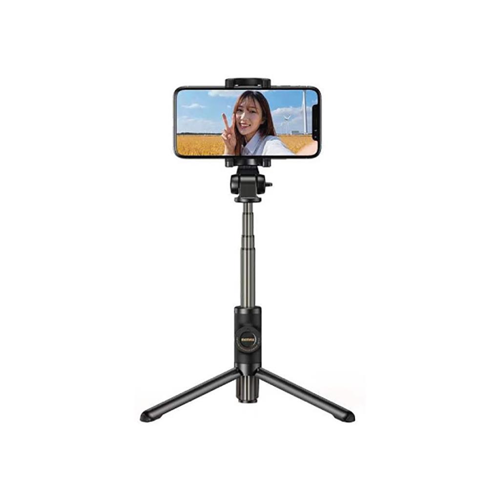 Remax P10 Bluetooth Selfie Stick With Remote Control & Tripod Mode