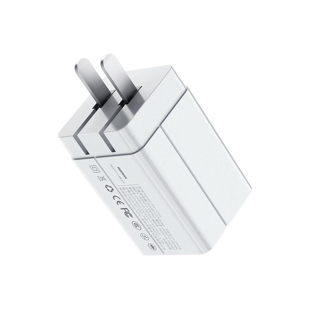 Remax Rp-u43 4 Usb Ports 3.4a Fast Charging Adapter (eu Plug)