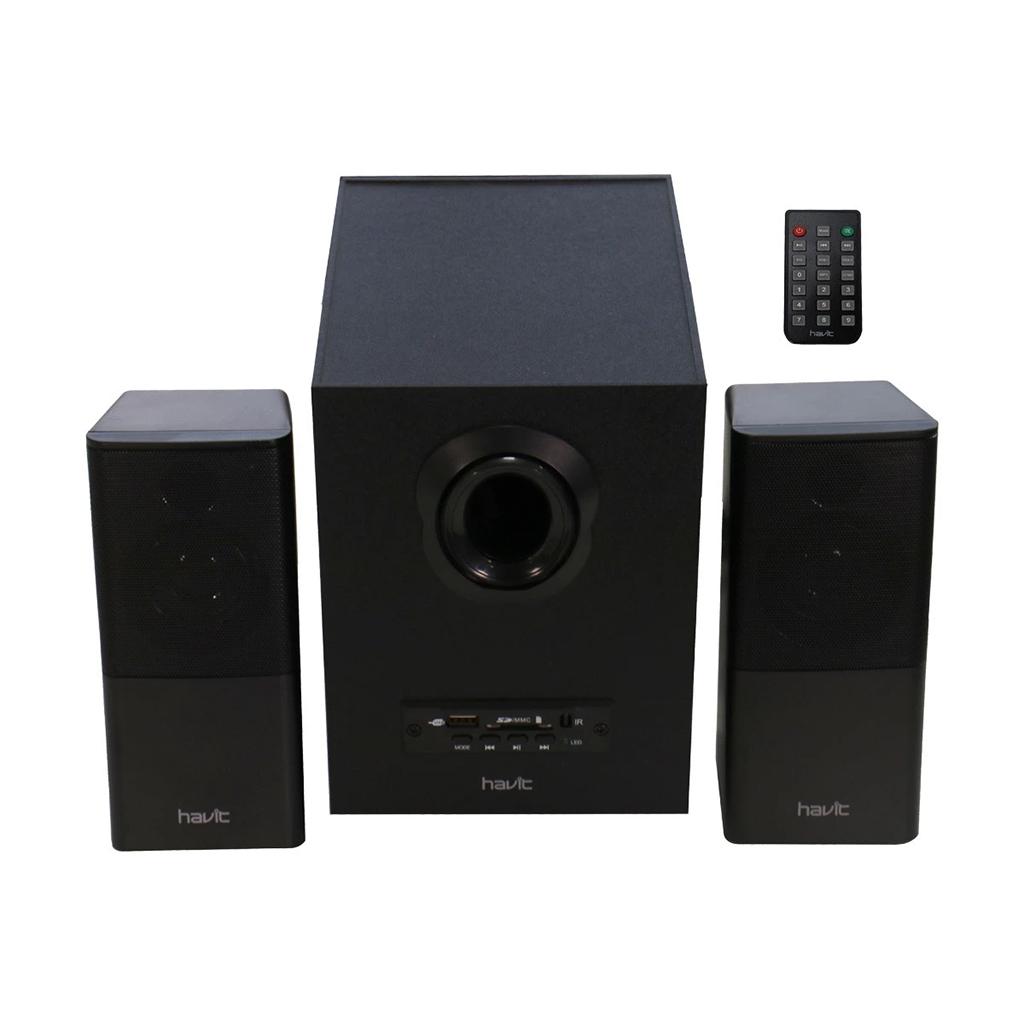 Havit Sk590 2:1 Multi Function Ac Power Speaker With Usb & Sd Port