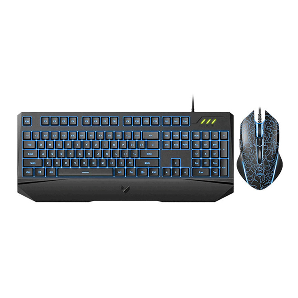 Rapoo V120s Backlit Gaming Keyboard & Optical Gaming Mouse
