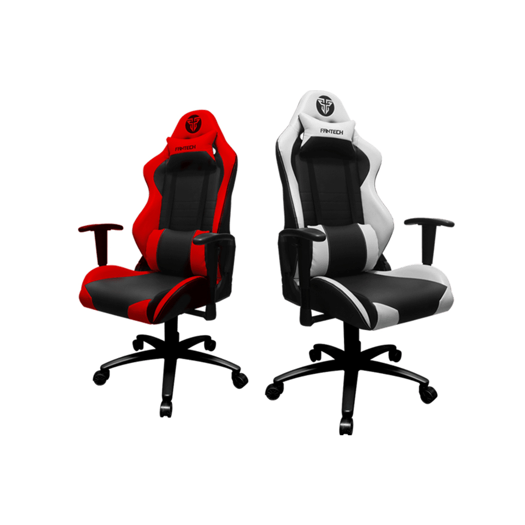 Fantech Gc-182 Gaming Chair (red & Blue)