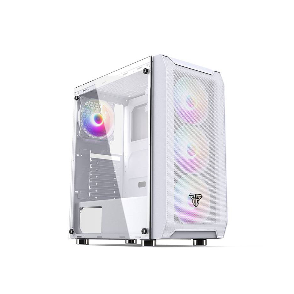 Fantech Cg80 Middle Tower Case (white)