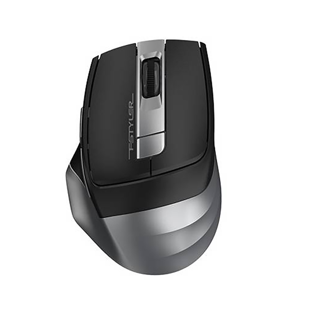 A4tech Fg35 Fstyler 2.4g Range 15m Wireless Optical Mouse - Grey