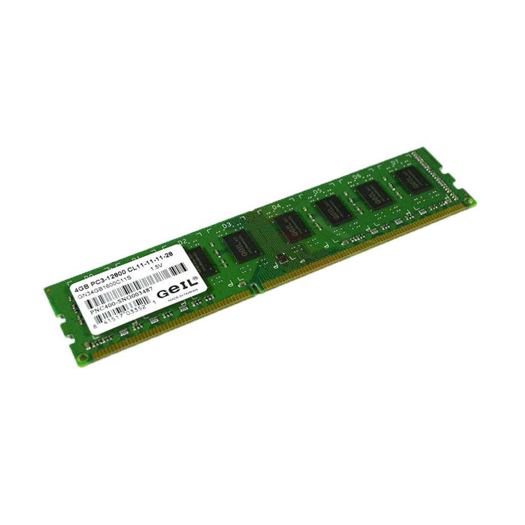 Geil 4gb Single Ddr3 1600 Desktop Ram
