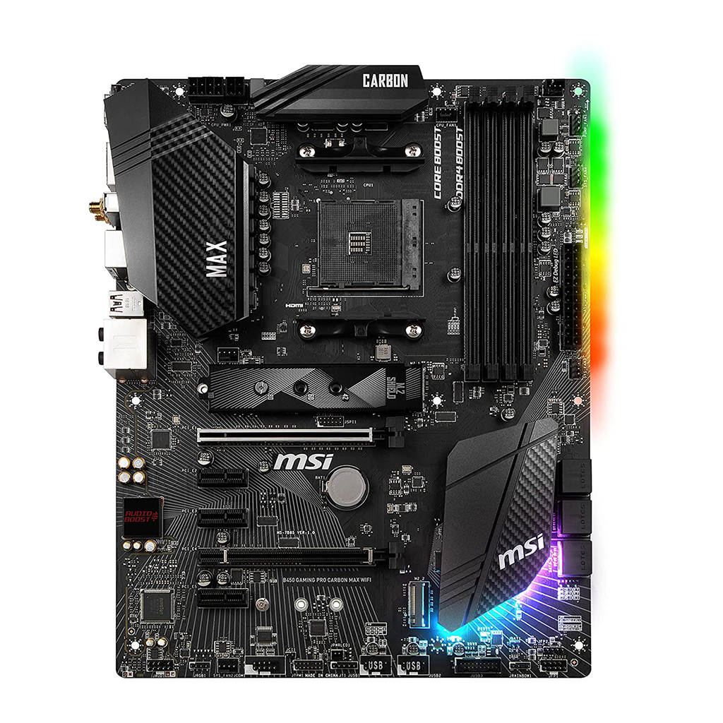 Msi B450 Gaming Pro Carbon Max Wifi Motherboard