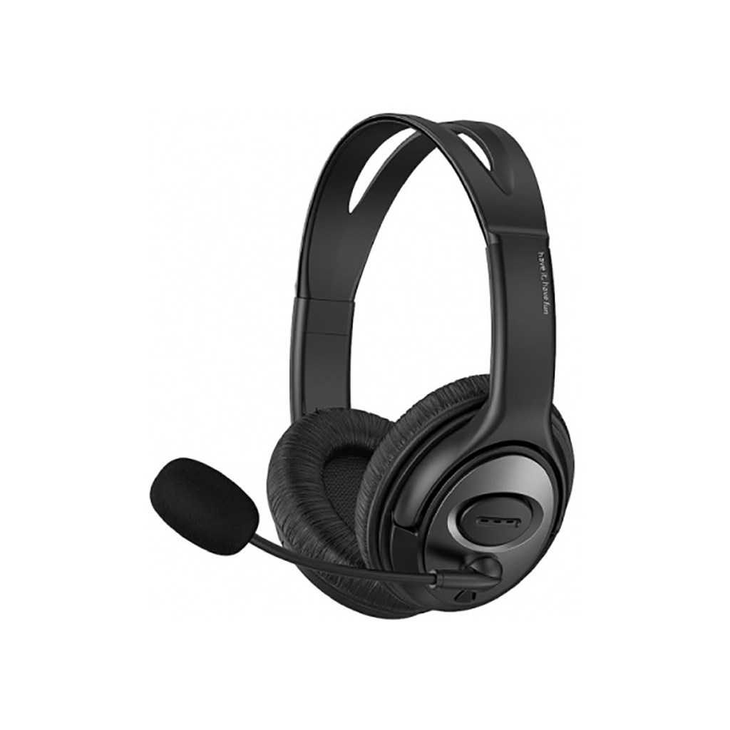 Havit H206d 3.5mm Double Plug Stereo Headset With Mic