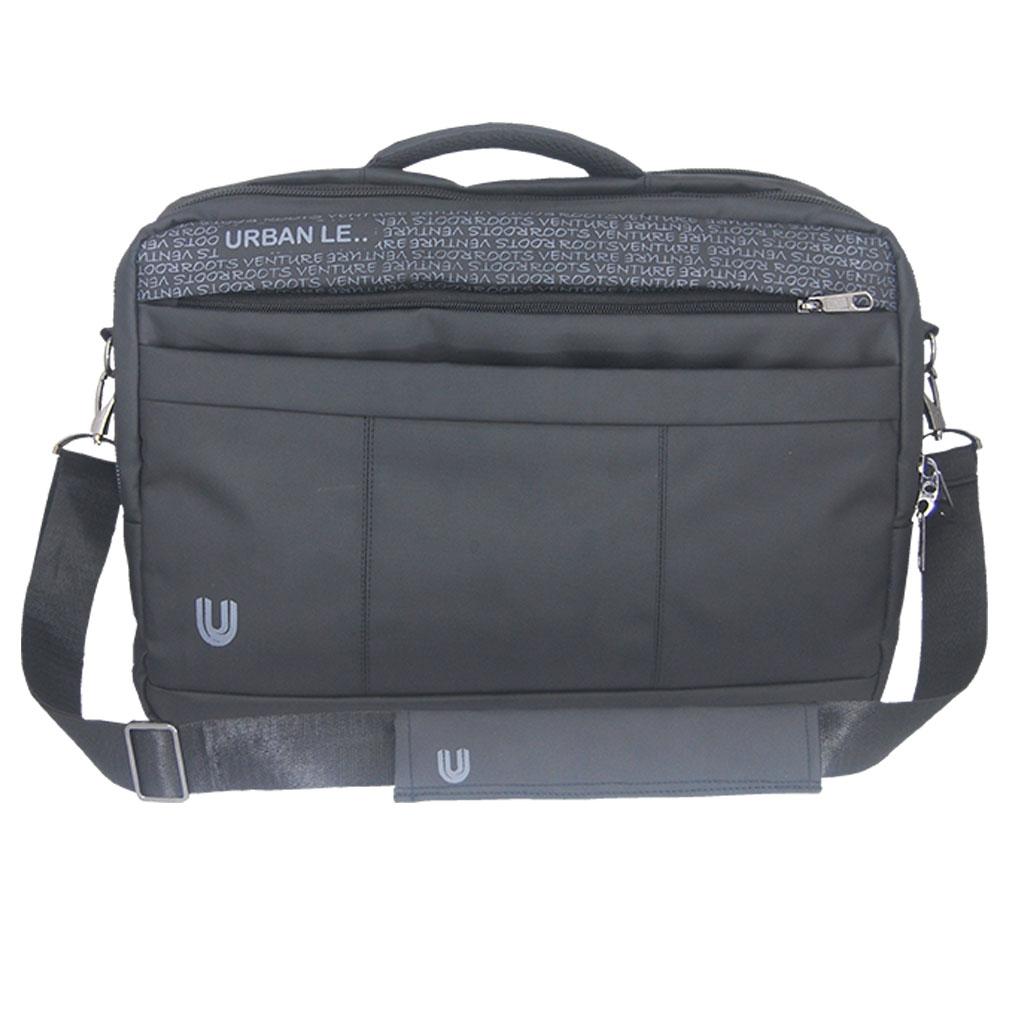 Urban Le 12-ob#00119 Magpie Office Bag - Black