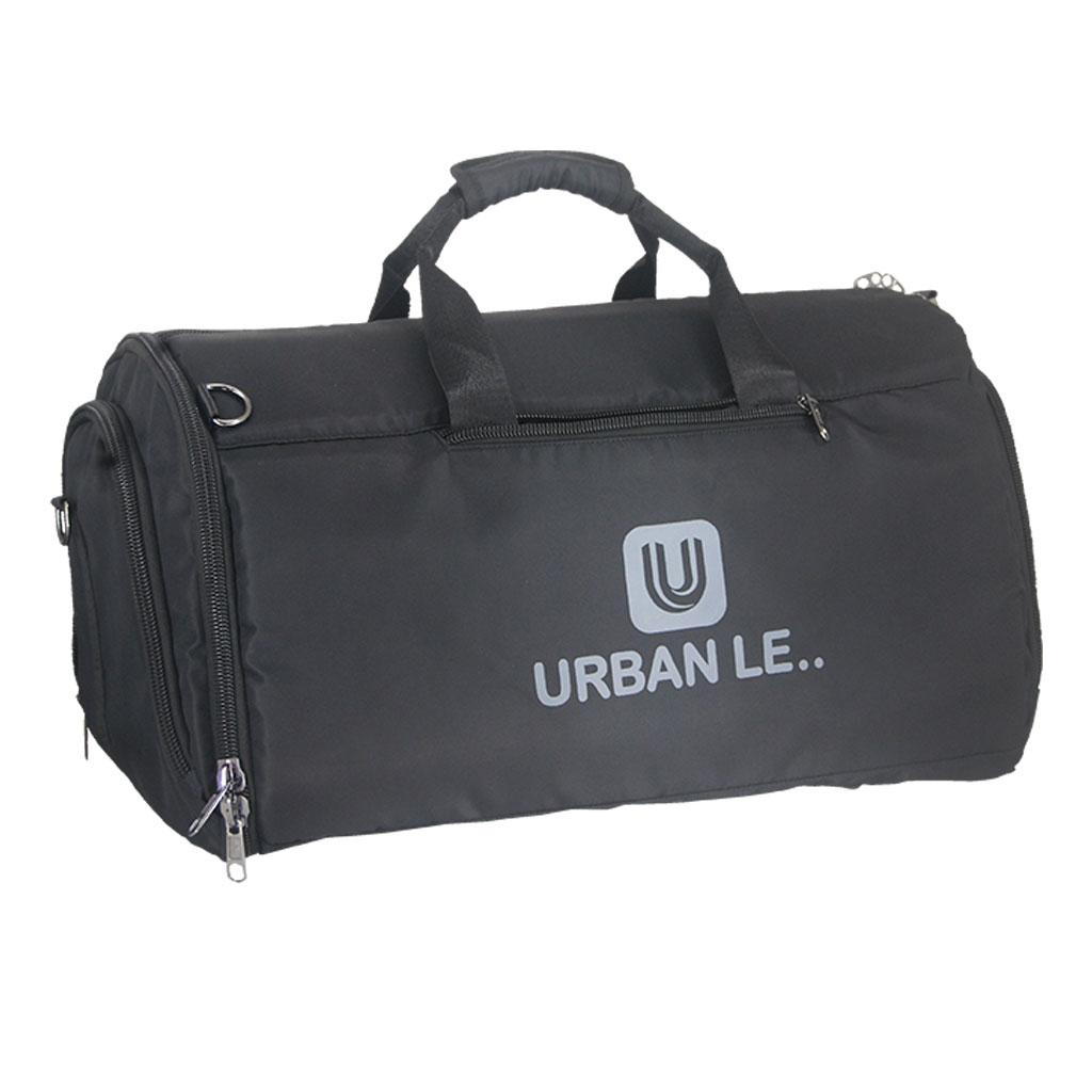 Urban Le 15-tb#00121 Camel Travel Bag - Black