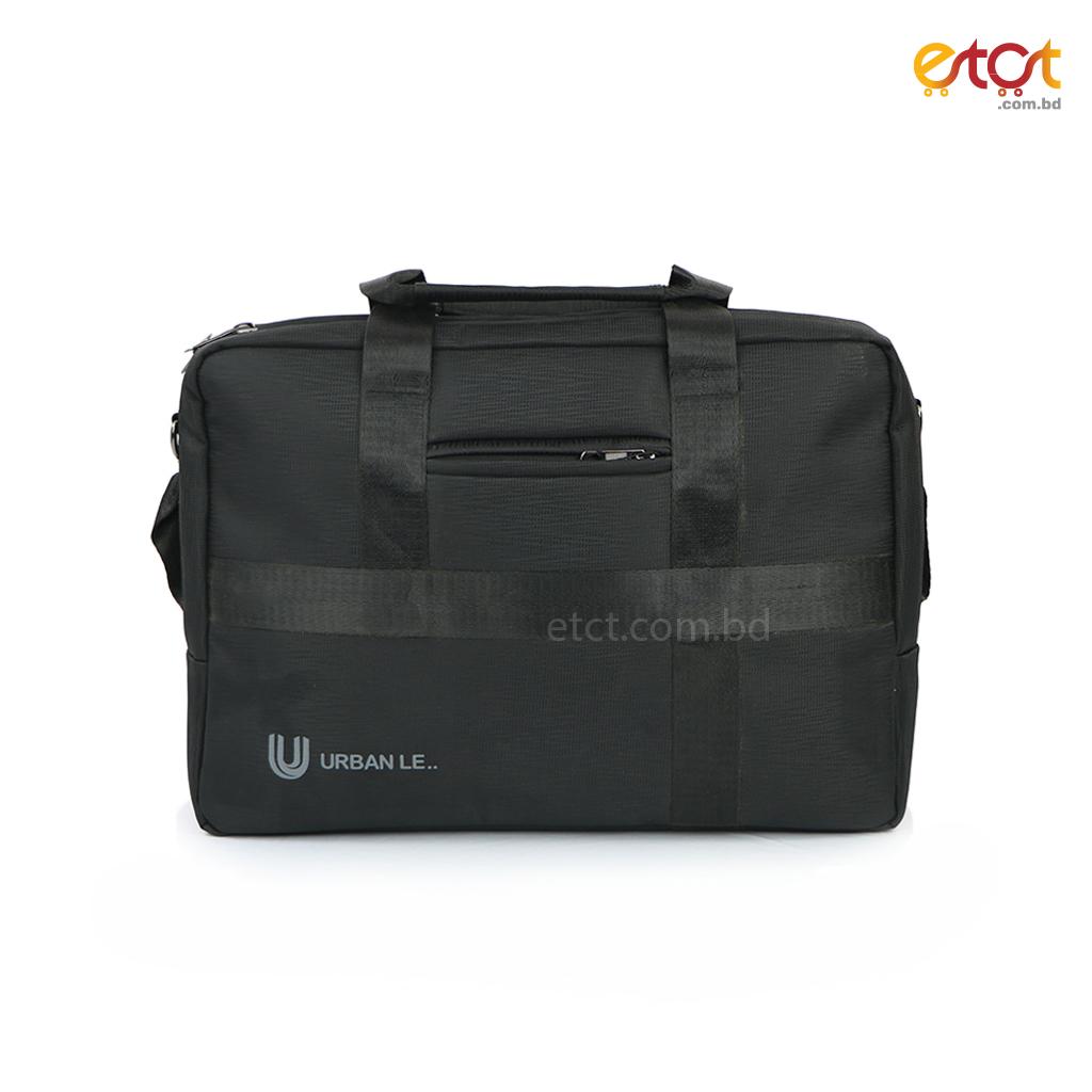 Urban Le 25-ob#00126 Topaz Office Bag - Black