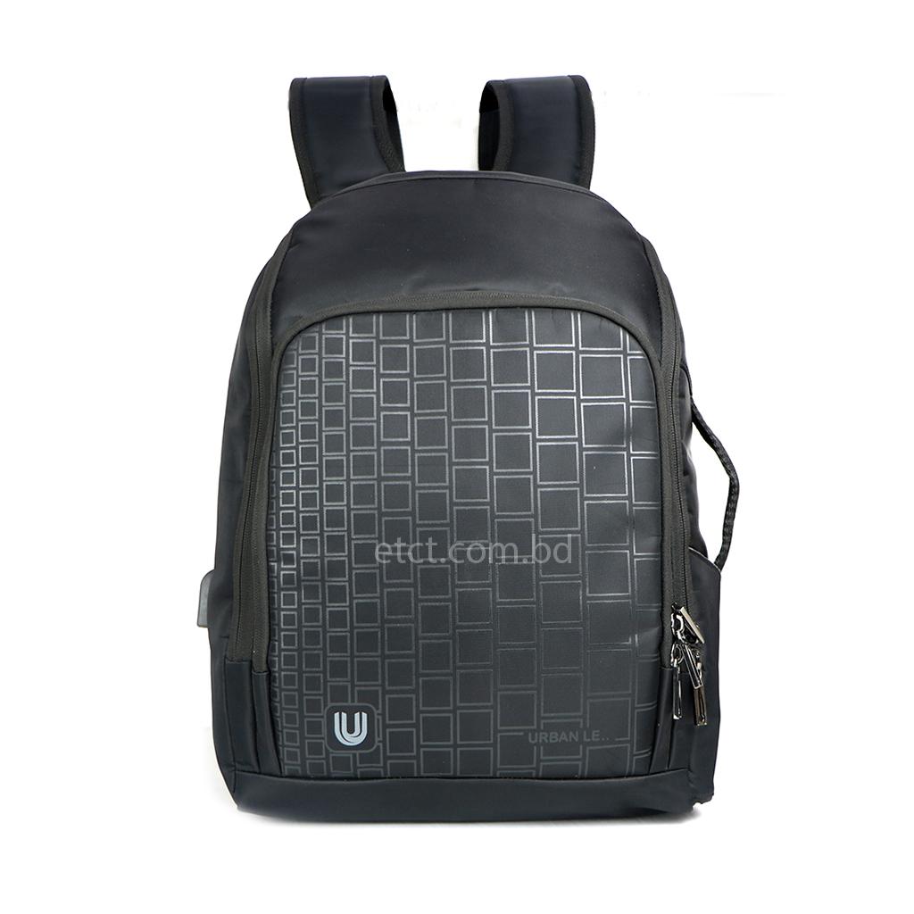 Urban Le 04-hb#00110a Jupiter-1 School Bag - Black