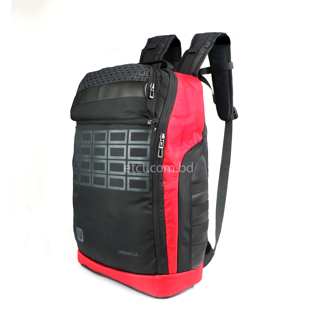 Urban Le 08-hb#00104 Neptune Backpack - Red
