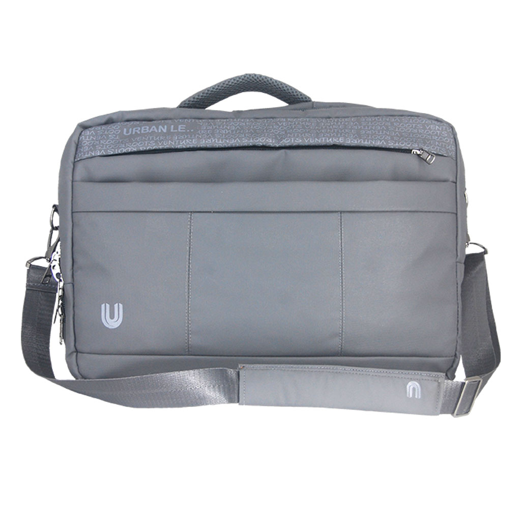 Urban Le 12-ob#00119 Magpie Office Bag - Ash