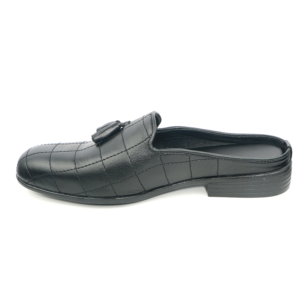 Rubber Upper Lining Close Sandal For Men (h-02)